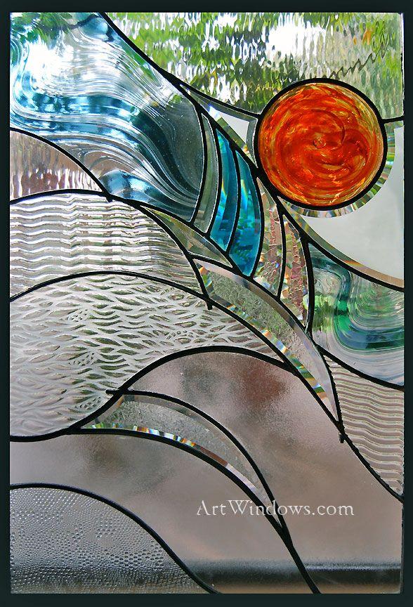 Art Windows Custom Stained Glass Art Glass Pinterest