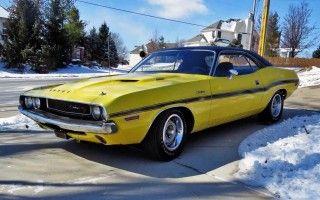 1970 Dodge Challenger RT Hemi #Classiccars