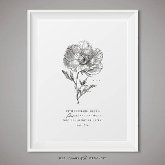 Printable botanicals