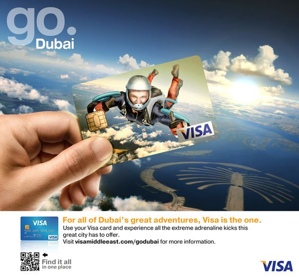 VISA Go Dubai by Giuseppe Parisi, via Behance