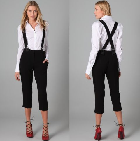Luxury Women39s Suspender Pants  EBay