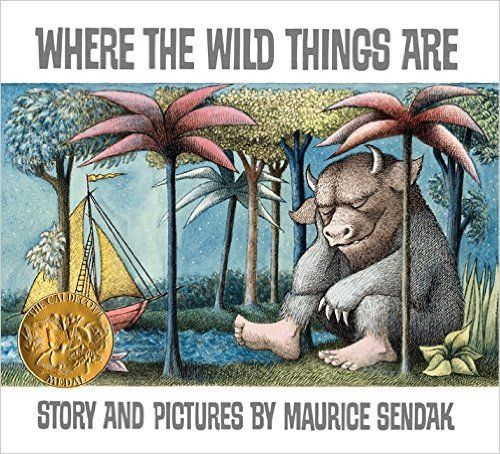 15 boosk that make us nostalgic for childhood, including Where the Wild Things Are by Maurice Sendak.