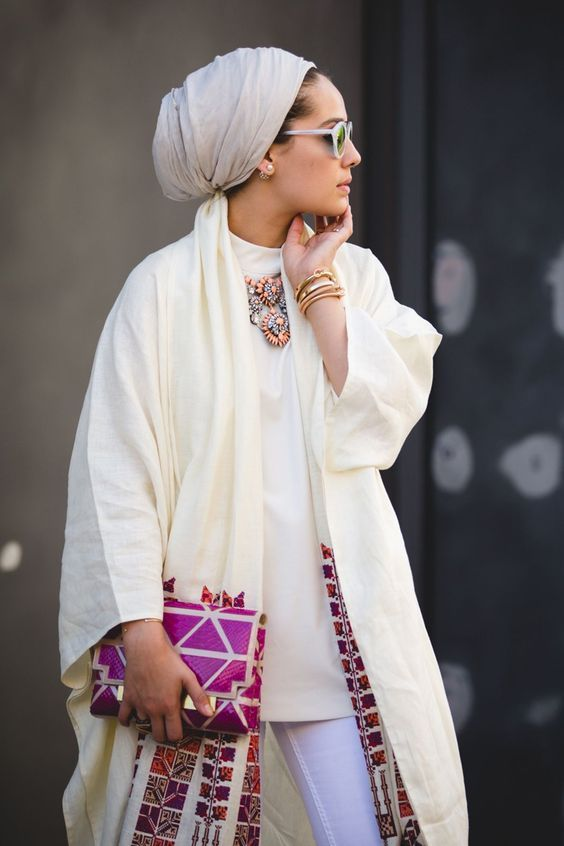 How to Wear a Silk Hijab in Style