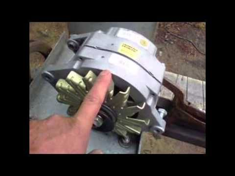 homemade windmill generator part 3 - YouTube