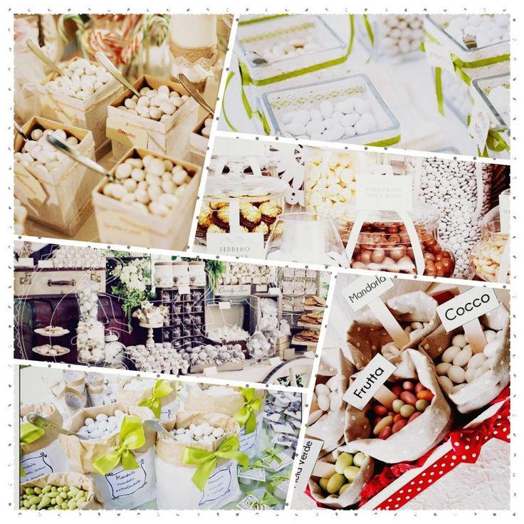 Alla mandorla, alla noce, al cocco, al cioccolato, alla ricotta e pere ... Dal sapore classico al più stravagante per i vostri #confetti ... tutti i gusti più uno!  Qual'è il vostro?  #RosadEventi #weddingplanner