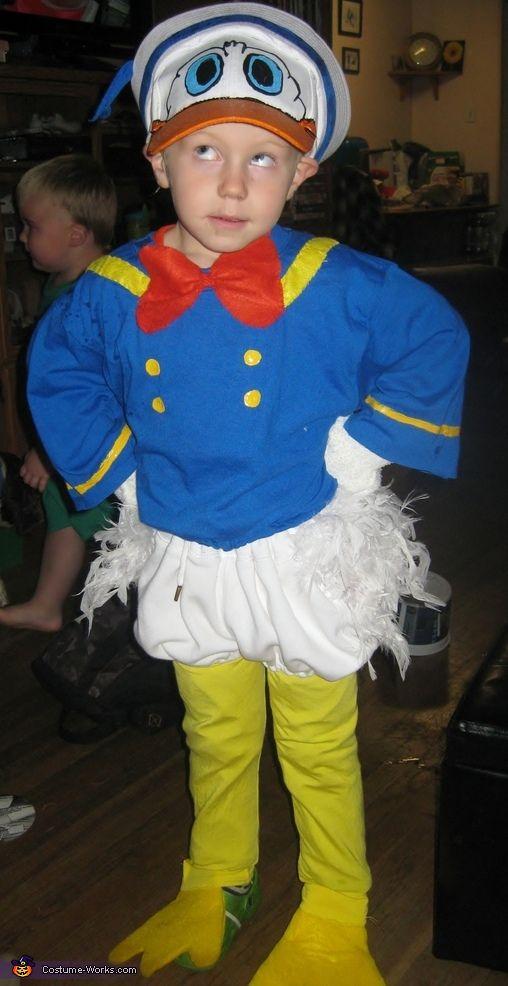 Donald Duck - Halloween Costume Contest via @costume_works