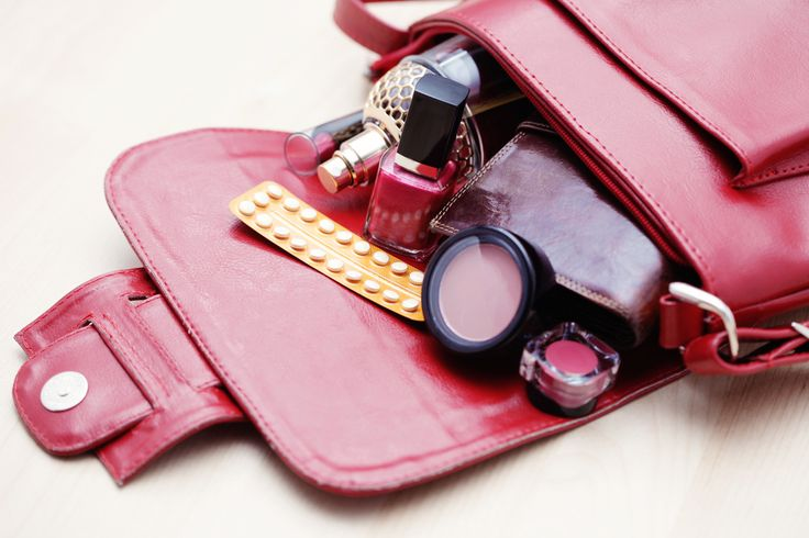 Afbeeldingsresultaat voor purse declutter