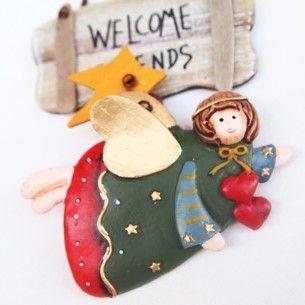 Welcome Friends Melek Kapı Süsü-3