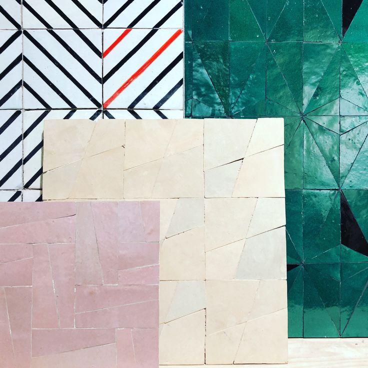 36 best collection creative ateliers zelij images on pinterest tile floor tile flooring and. Black Bedroom Furniture Sets. Home Design Ideas