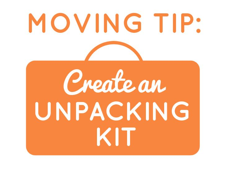 After moving multiple times, I realized the importance of prepping an unpacking kit for my move.