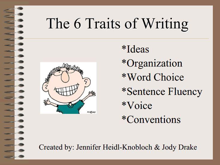 Six Traits of Writing Lesson Plan | Lesson Planet