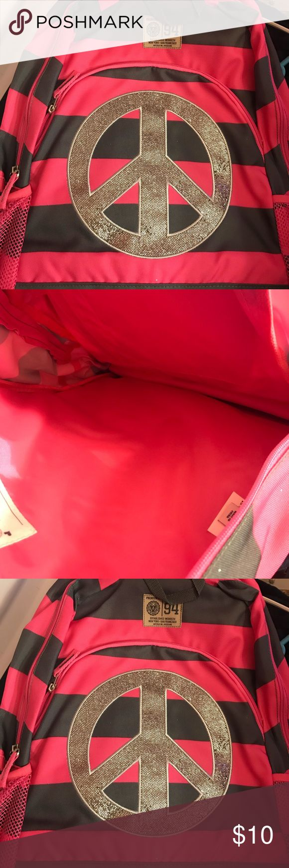 Old Navy Hot Pink Backpack New Backpack Old Navy Accessories Bags