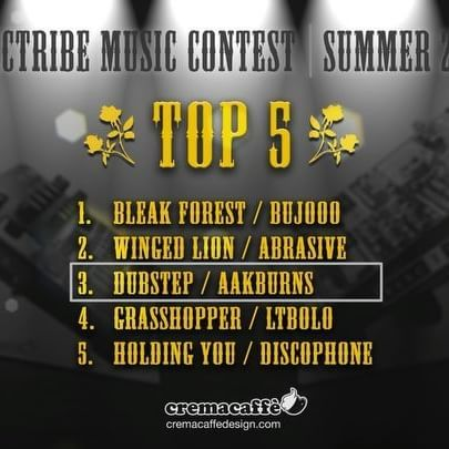 Announcing the Winners of the Electribe Music Contest | Summer 2016  Thanks to everyone who participated and helped make this contest a success!  http://cremacaffedesign.com/electribe-music-contest-winners/  #cremacaffedesign #electribe #music #contest #summer2016 #top5 #winners