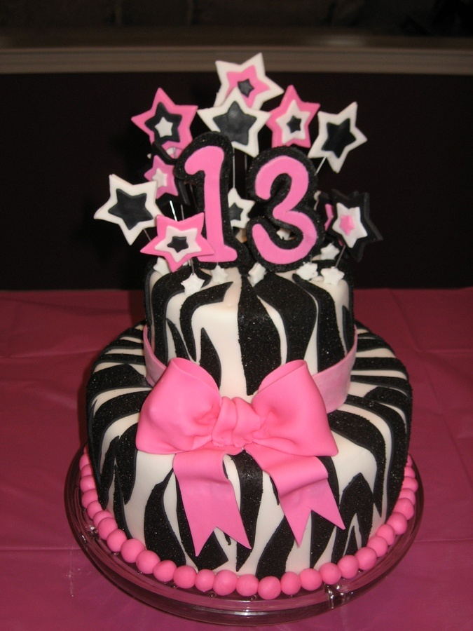 Cake Designs For 13th Birthday Girl Perfectend for
