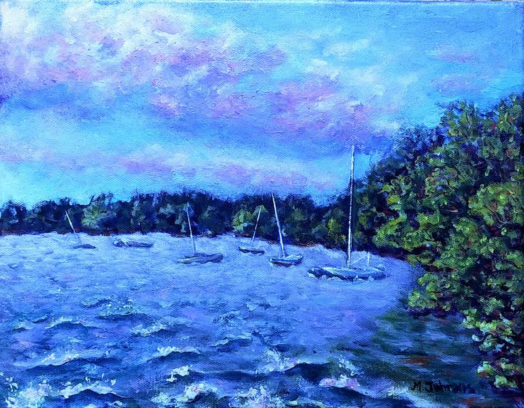 Choppy Waters by ducktoswangallery on Etsy