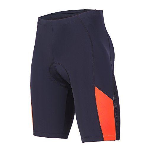 Padded Bike Shorts Men Sponeed Bicycle Short Half Pants Bike Wear