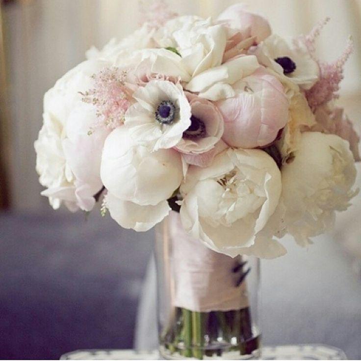 Wedding  bouquet peonies piwonie bukiet ślubny