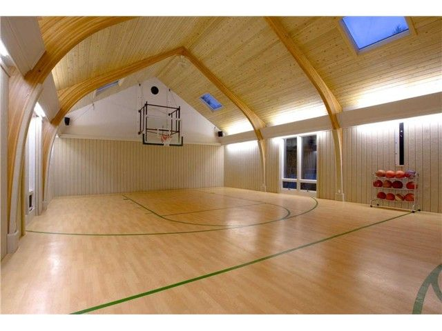 1000 images about indoor bb courts on pinterest for Built in basketball court