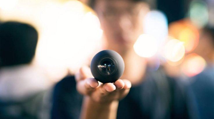 Luna – La petite caméra vidéo à 360 degrés du monde