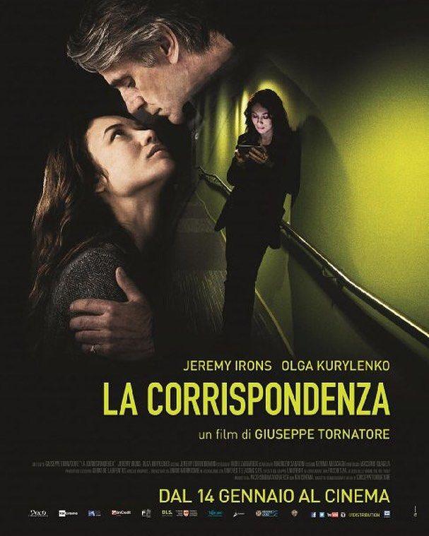 950222 فیلم عاشقانه ایتالیایی  The Correspondence (2016)  فیلم بر روی رابطه عاشقانه میان یک ستاره شناس و معشوقه اش در جزیان است ...