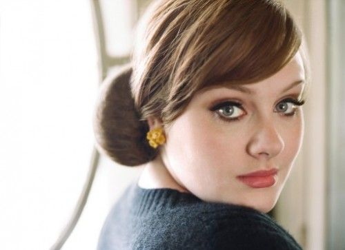 """""""I like having my hair and face done, but I'm not going to lose weight because someone tells me to. I make music to be a musician not to be on the cover of Playboy."""" - Adele. She is a genius."""