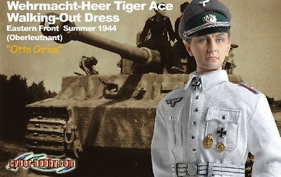 Armor 2588: Dragon Cyber Hobby 1 6 Scale 12 Wwii German Tiger Ace Otto Carius 70320 -> BUY IT NOW ONLY: $49.95 on eBay!