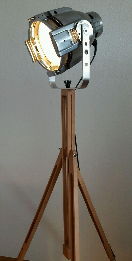 Designerlampe Industrial Design Spot Tripod Dreibein In Mbel Wohnen Beleuchtung Lampen