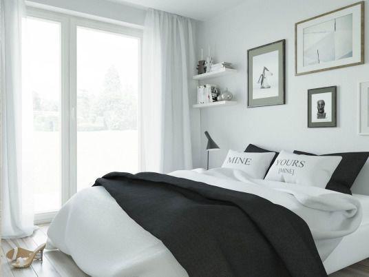 Biały apartament - Houselab Projektowanie Wnętrz Wrocław