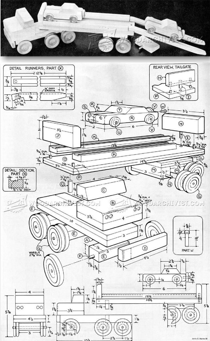 Toy Car Plans : Best images about wooden toy plans on pinterest