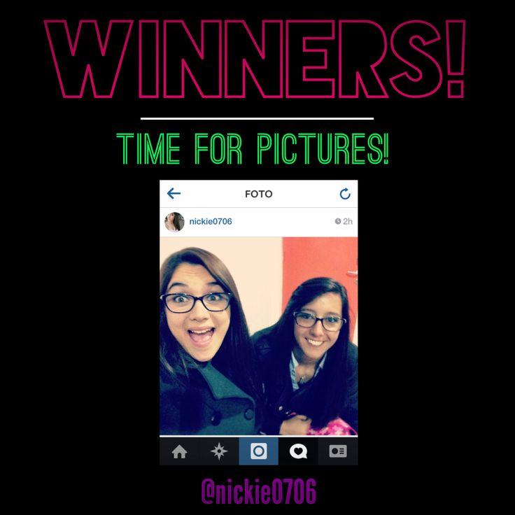 Primera pareja ganadora en Concurso Time for Pictures