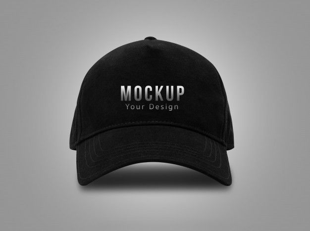 Black Baseball Cap For Mockup In 2020 Black Baseball Cap Baseball Cap Mockup