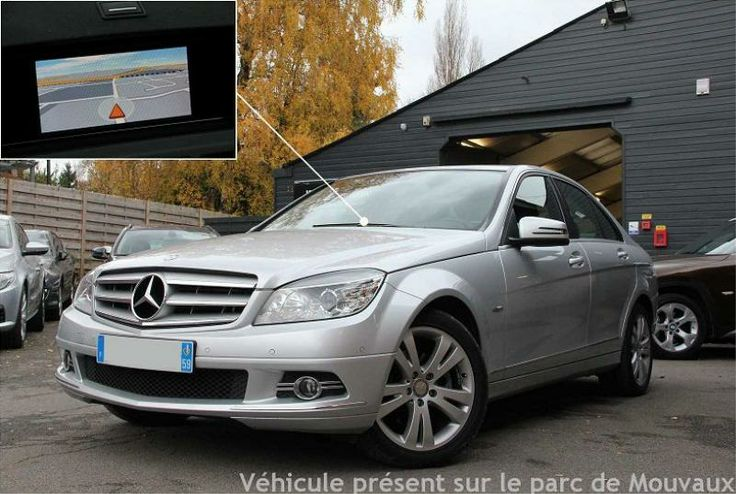 OCCASION MERCEDES CLASSE C III 220 CDI BLUEEFFICIENCY AVANTGARDE BVA