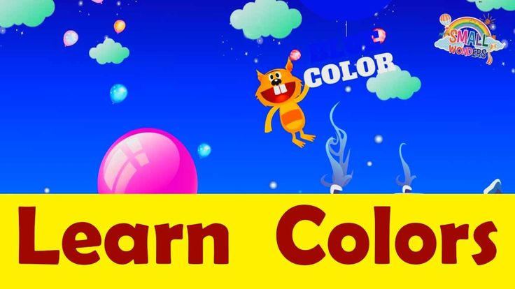 Colors song with balloon for kids | Learn Colors Collection | Teach Colo...