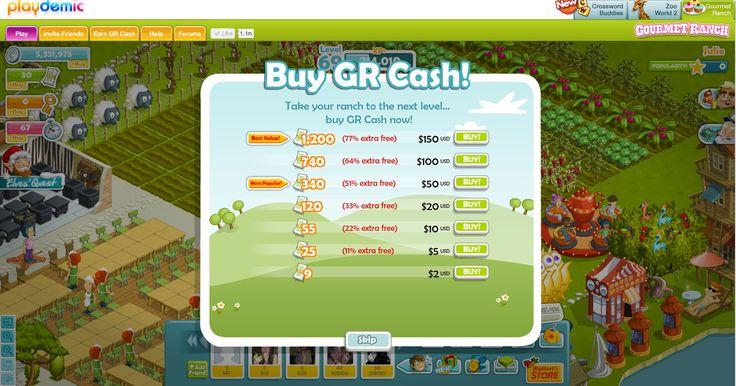 Gourmet Ranch - Ui video games