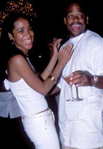 aaliyah and damon dash | aliyah & Damon ! *new pics* - aaliyah Photo