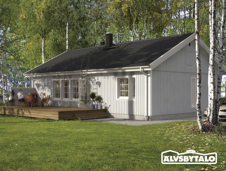 Kuutar. Muuttovalmis Älvsbytalo - Koti täynnä elämää.