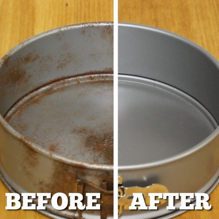 the easiest rust remover - just a Coke and aluminum foil.