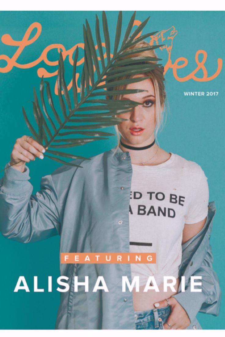 Buy Local Wolves magazine featuring Alisha Marie!