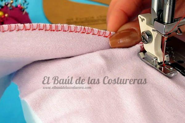 Coser telas elásticas con máquina casera | EL BAÚL DE LAS COSTURERAS