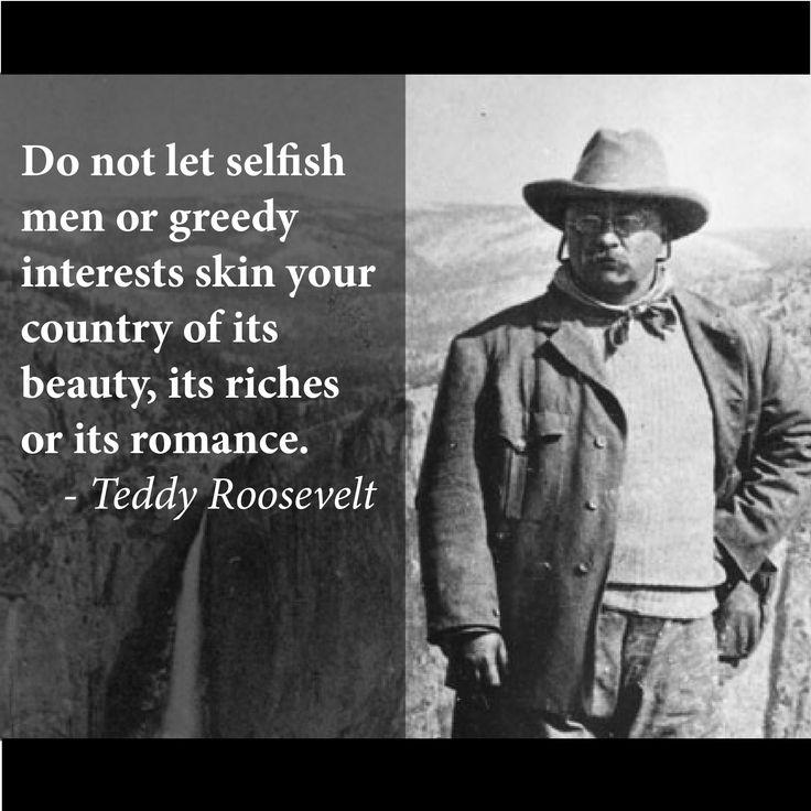 #TeddyRoosevelt #EnvironmentalConservation #NationalParks