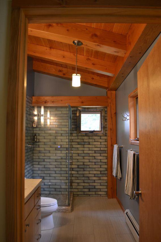pretty framing a bathroom. Timber Frame Bathrooms  New Energy Works 13 best images on Pinterest frame