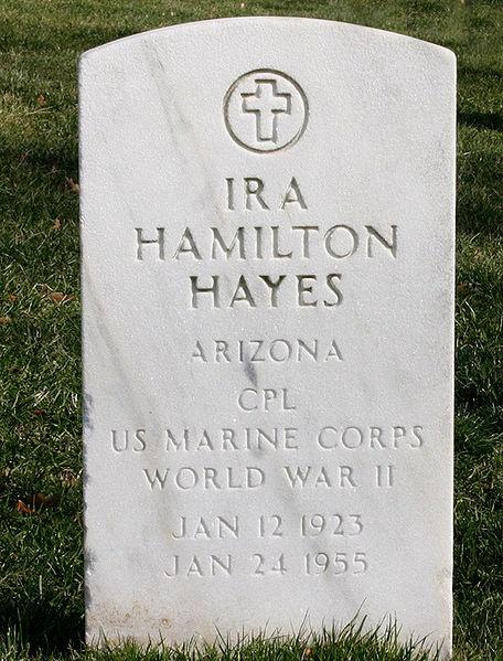 Ira H. Hayes, Veteran of Iowa Jima & famous flag raising photo on Mt. Suribachi.