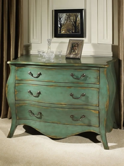 Bombay Chest Weathered Blue by Pulaski - 739252