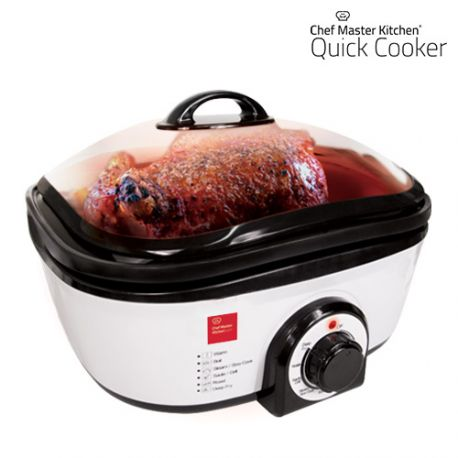 QUICK COOKER IN ALL COVERS SHOP Discover it and you can not live anymore withouth Quick Cooker.  Get your Quick Cooker now at this great price in All Covers Shop  With this comprehensive and useful high-quality kitchen appliance you can roast, steam, bake, stir-fry and fry in the easiest and quickest way. Its temperature varies from 60 to 190 ºC.  Quick Cooker is the perfect kitchen aid to prepare the healthiest and most delicious recipes ever…