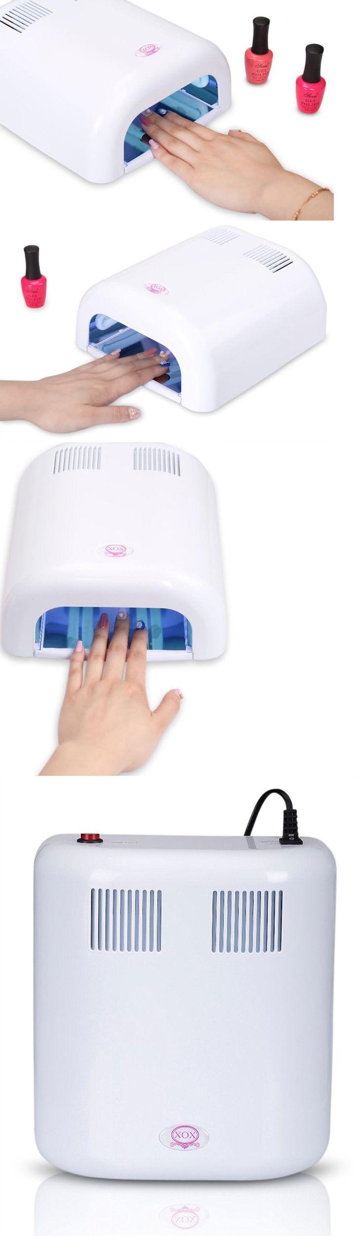 Nail Dryers and UV LED Lamps: (Xox) Portable Nail Polish Dryer W/36 Watt Led Uv Light Lamp W/Fan/Glove New C3 -> BUY IT NOW ONLY: $43.95 on eBay!