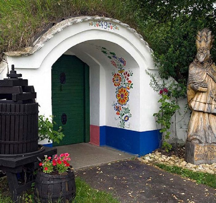 Wine Cellars South Moravia, Czech rep.