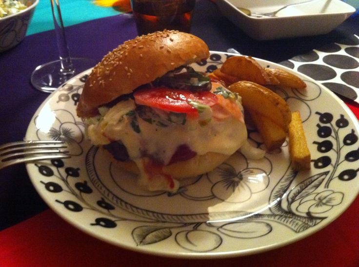 Poro-burgeri Kaamasmukka