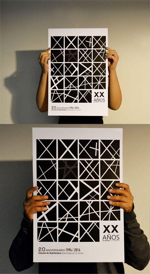#poster  #arquitectura #20años #architecture #graphic