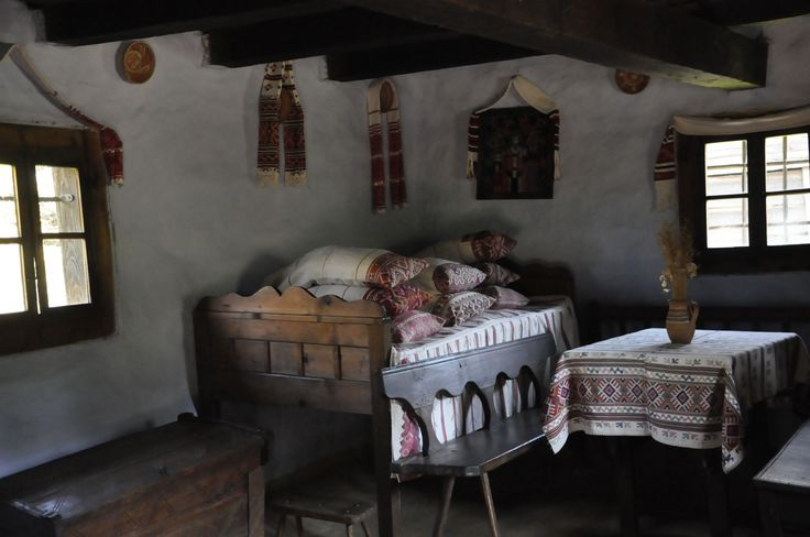 Authentic Romanian #interior with cushions. Cluj.