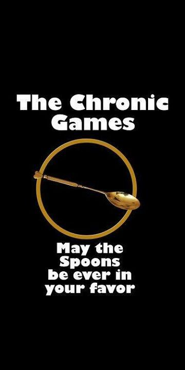 Chronic Illness - Spoon Theory